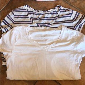 2 Isabel maternity shirts
